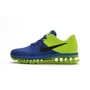 Nike Air Max 2017 Men Shoes Blue And Green