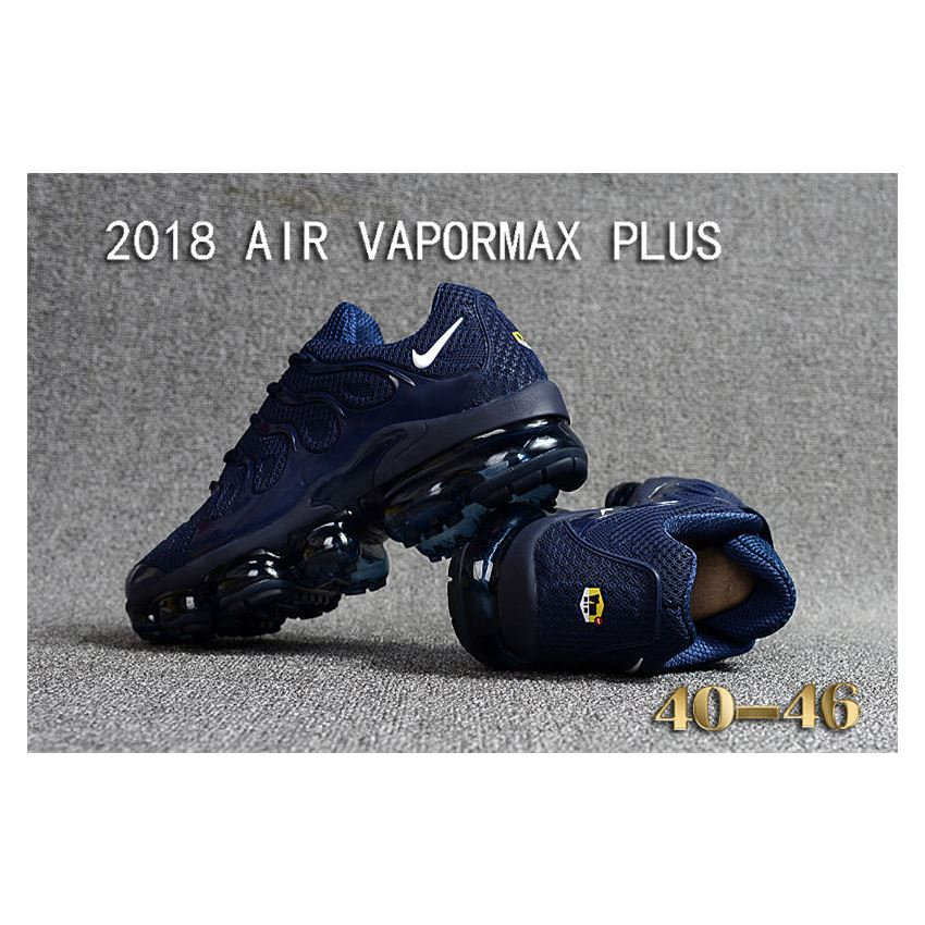 449ff17cc4 Nike Air Vapormax Plus TN Men shoes TPU Deep Blue, Nike 270, Nike ...
