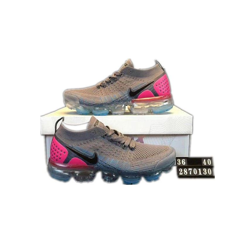 16c1c0e5a8 ... sweden nike air vapormax flyknit 2 men shoes grey and pink ee35e 8c7bc