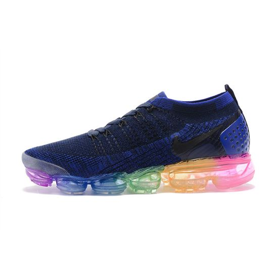 buy online ab893 560be Nike Air Vapormax Flyknit 2 Men shoes Deep Blue, Air Max 270 ...